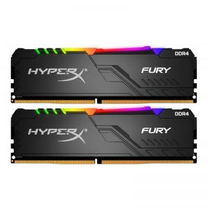 Memorie Kingston HyperX FURY 32GB (2x16) 3200MHz DDR4 CL16 DIMM RGB