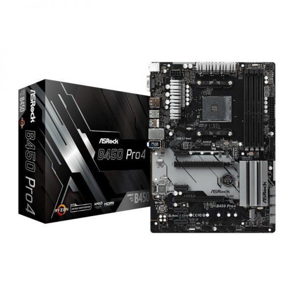ASRock-b450-pro4