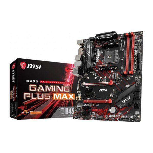 Placa de baza MSI B450 GAMING PLUS MAX